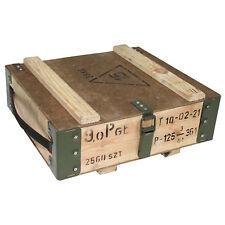 Original Polish Army Vintage Wooden Ammo Transport Box Case Used Surplus