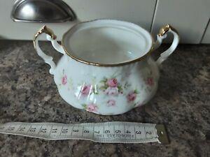 Paragon China Victoriana Rose Sugar Bowl - No Lid.