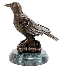Moderne Künstlerbronze - Steam Punk Figur - Vogel Bronze - signiert Martin Klein