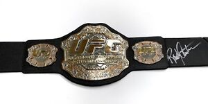 Randy Couture - Champion UFC MMA Fighter - Autographed Replica UFC Belt