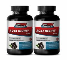 Acai Fruit Cleanse - Acai Berry Extract 1200mg - Healthy Digestive System 2B