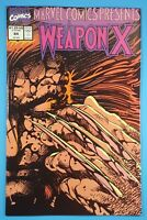 Marvel Comics Presents Weapon X #84 Wolverine Barry Windsor Smith Marvel Comics