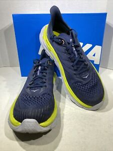 Hoka One One Clifton Edge Women's Size 10.5 Blue Athletic Running Shoes X7-814