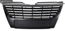 For VW Passat BLACK Front badgeless grill sport grille without emblem abs NO PDC