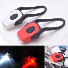 Rear Safety LED Bicycle Cycling Tail Warning Light Bike Flashing Lamp Red/White