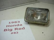 Honda Big Red 200e headlight assembly video #83