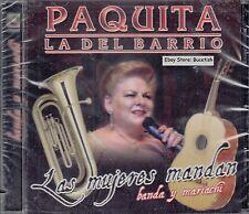 Paquita La Del Barrio Las Mujeres Mandan banda Y Mariachi New Nuevo Sealed