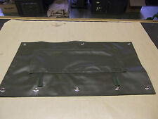 Land Rover Defender Green Radiator Muff Military Spec Rad Muff WMIK Grill Type