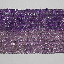 Rondelle Amethyst Loose Beads