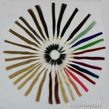 43 Colors Human Hair Color Plate CHART Human Hair Extensions color rings samples