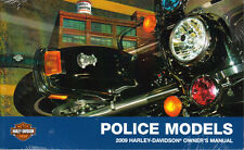2009 Harley POLICE Electra Glide Road King Sportster Owner's Owners Owner Manual