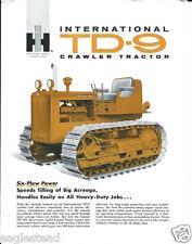 Equipment Brochure - Ih - Td-9 - Crawler Tractor (E2150)