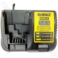 Dewalt DCB112 12V-20V MAX Genuine Lithium Ion Battery Charger for DeWalt tools