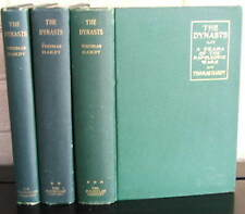 THE DYNASTS: A Drama of the Napoleonic Wars. Thomas Hardy. 3 vol. second issue