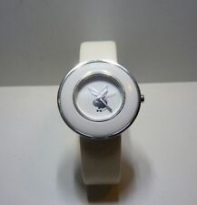 USED VERY GOOD CONDITION GENUINE White Playboy Ladies Wrist Watch PB0270WH