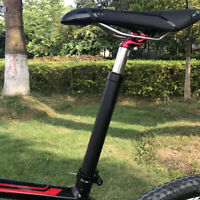 MTB Mountain Bike Saddle Seat Post Bicycle Seatpost Hydraulic Suspension