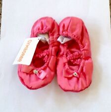 NEW Gymboree BALLET STYLE Slippers PINK Toddler Girl SZ 7-8
