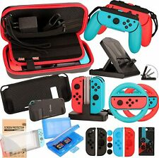 Accessories Kit for Nintendo Switch Games Bundle