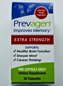 Prevagen Extra Strength 30 Capsules Improve Memory - Brand New Sealed