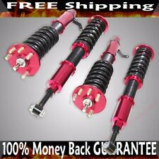 Coilover Suspension RED ADJ Dampening fit 04-08 Acura TSX 03-07 Accord