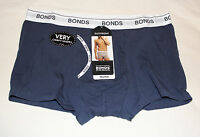 Bonds Mens Navy Ink Cotton Stretch GuyFront Trunk Brief Size L 95-100cm New