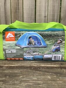 Ozark Trail Kids 2 Person Dome Tent 6'x4' Outdoor Camping Backyard Camp Sleep