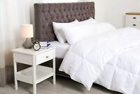 Super Soft Oversized Lightweight White Down Alternative Comforter All Season Bed