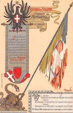 3434) 3 REGGIMENTO ARTIGLIERIA D'ASSEDIO, 1903 CONSEGNA BANDIERA COMBATTIMENTO.