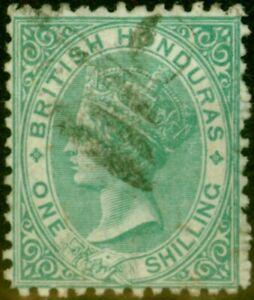 British Honduras 1872 1s Green SG10 Fine Used