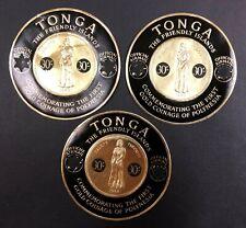 Tonga #CO8 3 Copies 1965 MNH