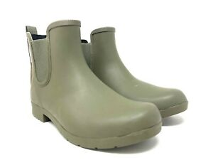 Chooka Eastlake Chelsea Ankle Waterproof Rain Boots Size 9