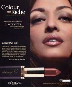 L'oreal Color Riche Star Secret  708 Aishwarya Beige (X 2 Units)