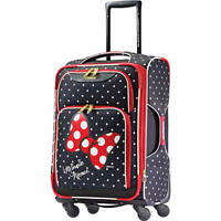 American Tourister Disney Minnie Mouse Red Bow Spinner Soft Side Suitcase