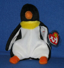 TY WADDLE the PENGUIN BEANIE BABY - MINT with MINT TAG