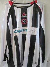 "Sheffield United 2006-2007 Away no 6 Football Shirt Size 42""-44"" LS /11753"