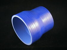 Durite Silicone droite manchon 32-38 mm 32mm 38mm 3plis 76mm long BLEU Tuning