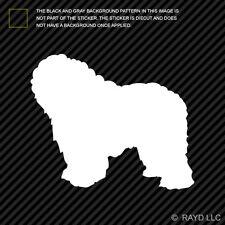 (2x) Polish Lowland Sheepdog Sticker Die Cut Decal Vinyl dog canine pet