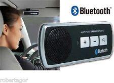 Kit Vivavoce Trasmettitore Bluetooth per Auto Universale Cellulare Multipoint -