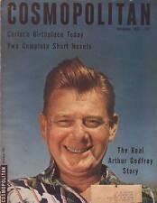 1952 Cosmopolitan December - Model T Ford; Arthur Godfrey; Jackie Gleason;