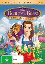 Beauty And The Beast - Belle's Magical World (DVD, 2011) Region: 4