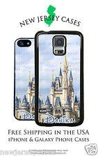 Disney Cinderella Castle Daytime Clouds Apple, Samsung, LG, Google Phone Case
