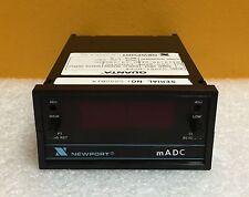 Newport mADC Seres Q2001-BCR4 120 VAC, 5 Watt, 3 1/2 Digit, DC Meter-Controller