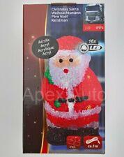 Santa /& Renne tamponnant Autocollant Peeping Funny Mignon Décoration de Noël Rudolph