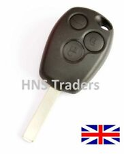 NEW for Renault Clio Modus Laguna Megane 3 Button remote key shell + LOGO A65
