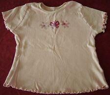 Mariposa Rosa Camiseta Edad 4-5