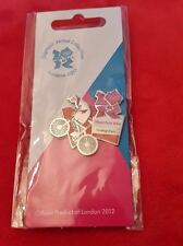 Olympics London 2012 Venue Sports Logo Pose Pin - Mountain Bike