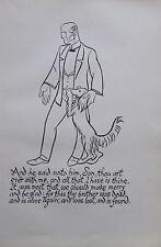 Thomas Derrick DER VERLORENE SOHN 1931 Buchillustration Druck print #19