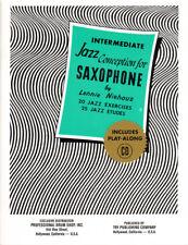 Lennie Niehaus Intermediate Jazz Conception for Saxophone Noten mit CD