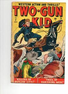 TWO GUN KID #2 GOLDEN AGE MARVEL