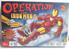 Iron Man 2 Operation Board Game 2010 Silly Skill Hasbro (Incomplete)